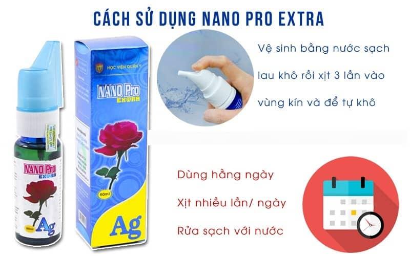 Dung dịch vệ sinh phụ nữ Nano Pro Extra HVQY slide 1-min